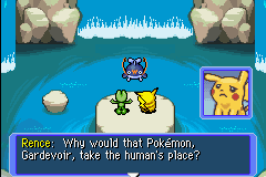 Pokemon Mystery Dungeon - Red Rescue Team - I abandoned Gardevior!! - User Screenshot