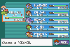 Pokemon Ash Gray (beta 3.61) - Good team - User Screenshot