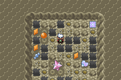 Pokemon Flora Sky - Mining minigame - User Screenshot