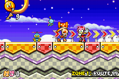 Sonic Advance 3 - Amy - Look everyone, Cream