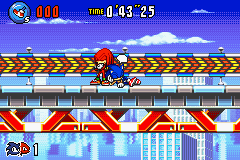 Sonic Advance 3 - All this work is tiring, lets take a nap - User Screenshot