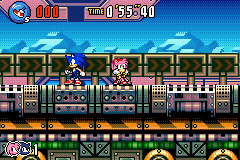 Sonic Advance 3 - Amy - Why does Sonic not love me? - User Screenshot
