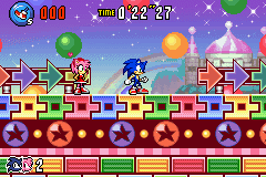 Sonic Advance 3 - Level  - Amy: C