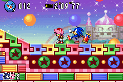 Sonic Advance 3 - Level  - Sonic: Go away, I don