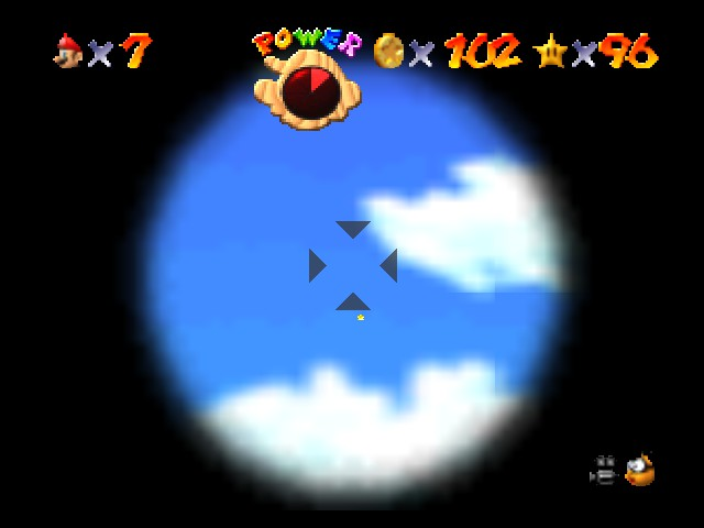 Super Mario 64 - why did I get my 100th coin in the sky?? - User Screenshot