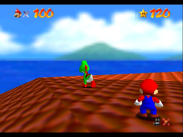 Super Mario 64 - Level  - yoshi dont do it - User Screenshot