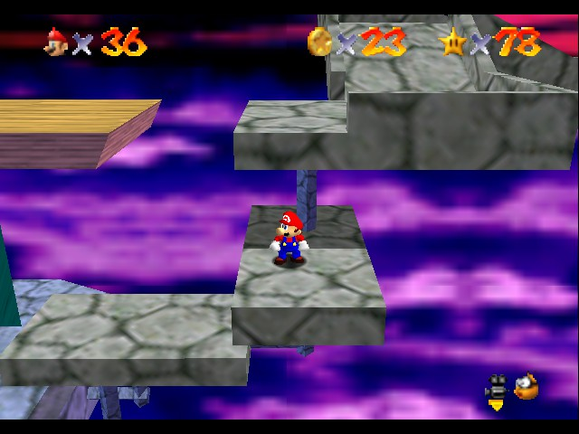 Super Mario 64 - awesome 36 lives - User Screenshot