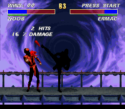 Ultimate Mortal Kombat 3 - i kill u! - User Screenshot
