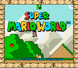 Super Mario World - Level tile  - how did mario die har - User Screenshot