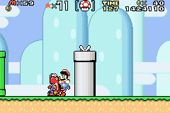 Super Mario Advance 2 - Super Mario World - what the - User Screenshot