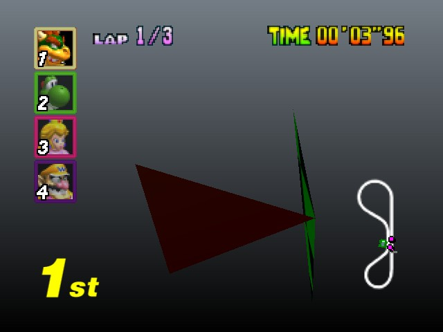 Mario Kart 64 - Do you think i want to deal with this? - User Screenshot