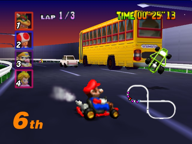 Mario Kart 64 - o_o - User Screenshot