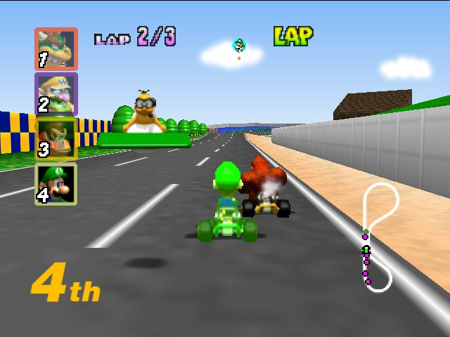 Mario Kart 64 - Jaws. - User Screenshot