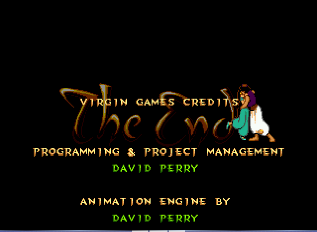 Aladdin - Ending  -  - User Screenshot