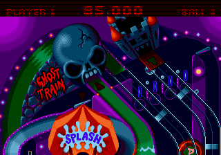 Psycho Pinball - Level  -  - User Screenshot