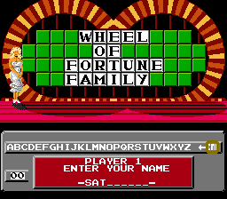 Wheel of Fortune Family Edition - Level  -  - User Screenshot