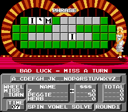 Wheel of Fortune - Family Edition - Level  -  - User Screenshot