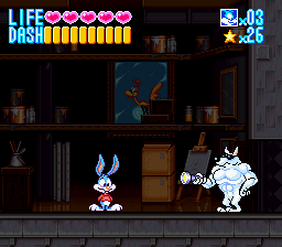 Tiny Toon Adventures - Buster Busts Loose! - Level  -  - User Screenshot