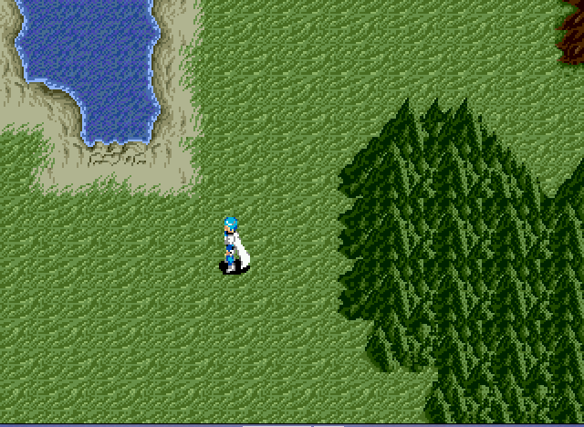 Phantasy Star III - Generations of Doom - walkin thru land - User Screenshot