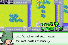 Advance Wars 2 - Black Hole Rising - Sami has a colorful vocabulary - User Screenshot