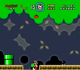 Super Mario World - YESS! I Finally caught you! - User Screenshot