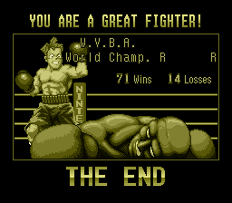 Super Punch-Out!! - Woo beat the game and put him to shame!!!! - User Screenshot