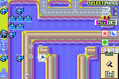 Advance Wars 2 - Black Hole Rising - Blue base-Vizzed islands - User Screenshot
