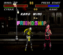 Mortal Kombat 3 - wtf did he just blow some gum O.o XD - User Screenshot