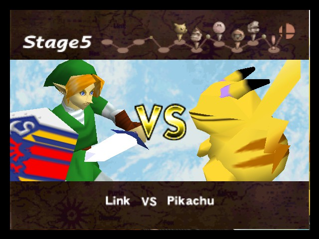 Super Smash Bros. - lol whats with pikachu? - User Screenshot