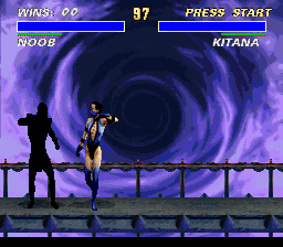 Ultimate Mortal Kombat 3 - DID THIS GAME JUST CALL ME NOOB?!?! - User Screenshot