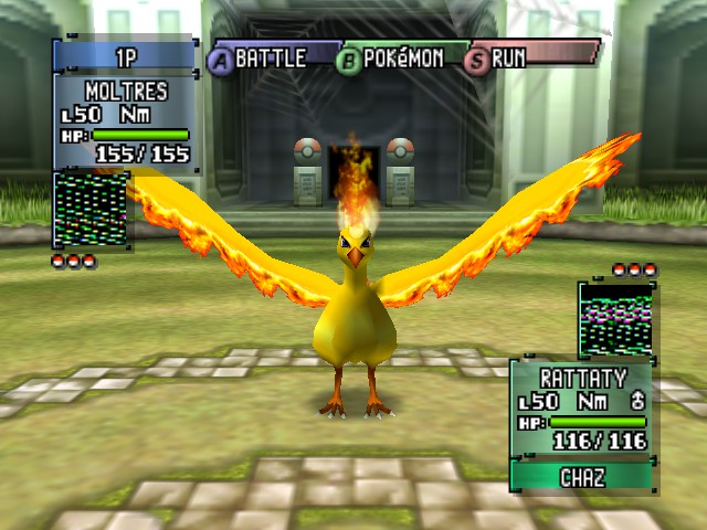 Pokemon Stadium 2 - Battle  - FIRE POWAH!! - User Screenshot