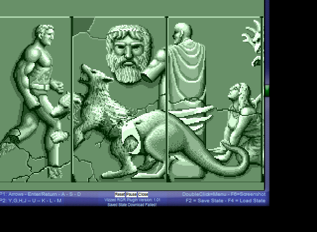Altered Beast - Intro! - User Screenshot