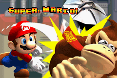 Mario vs. Donkey Kong - ha ha i hit u - User Screenshot