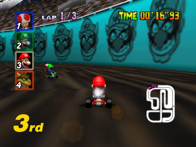 Mario Kart 64 - creepy track.. - User Screenshot