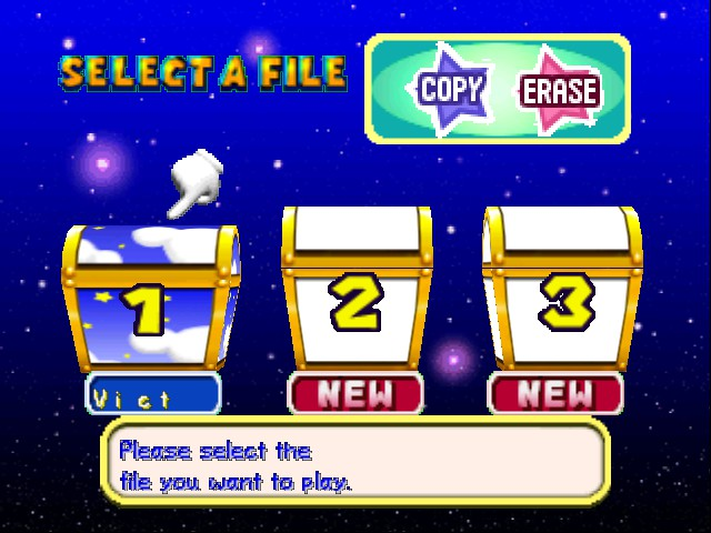 Mario Party 3 - Menus File Select - - User Screenshot
