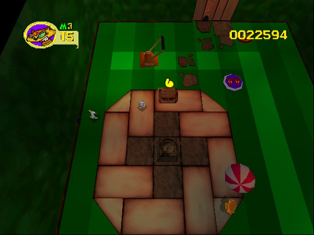 Rat Attack - Level Sundial Showdown - The second level of Garden - User Screenshot