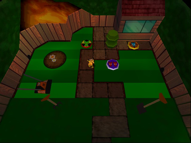 Rat Attack - Level Compost Corner - The fourth level of Garden - User Screenshot