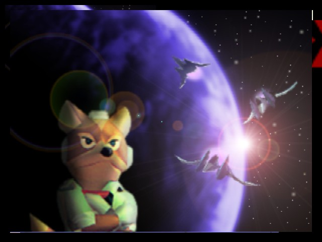Super Smash Bros. - Ending  - Finish with Fox - User Screenshot