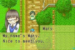 Harvest Moon - Friends of Mineral Town - Cut-Scene  - She is such a sweety. - User Screenshot
