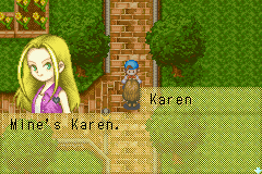 Harvest Moon - Friends of Mineral Town - Cut-Scene  - Now kiss me fool! - User Screenshot
