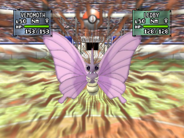 Pokemon Stadium 2 - Battle  - My Silver Team Venomoth Killin! - User Screenshot