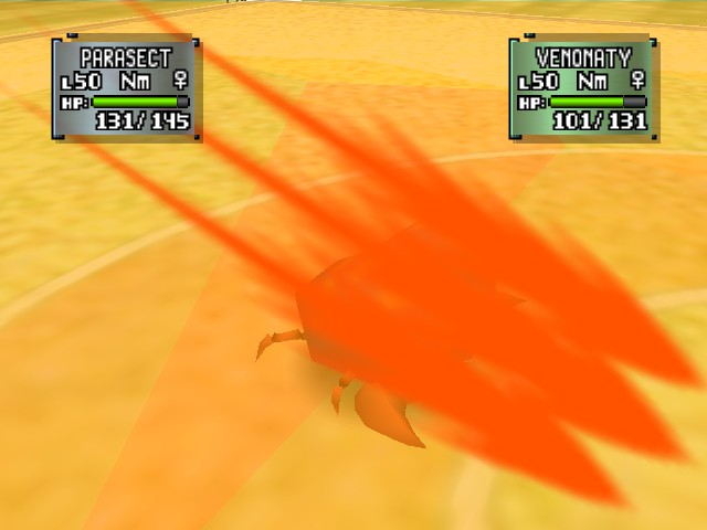 Pokemon Stadium 2 - Parasect doing the job - User Screenshot