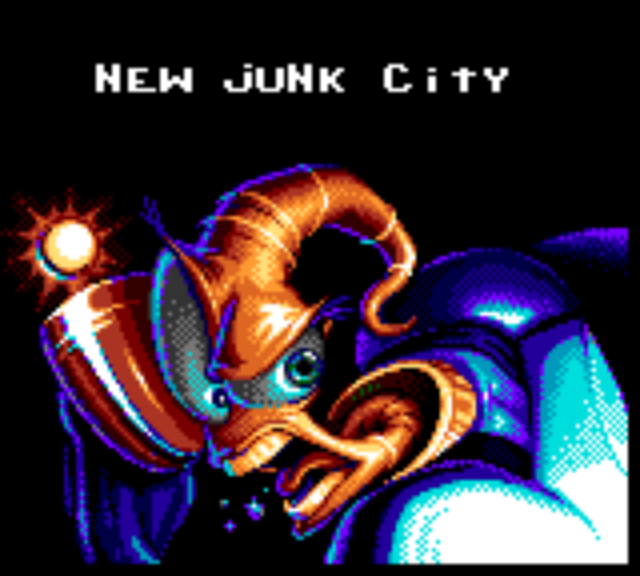 Earthworm Jim - Level  - New Junk City - User Screenshot