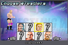 Legends of Wrestling II - Character Select  - Owen Hart - User Screenshot