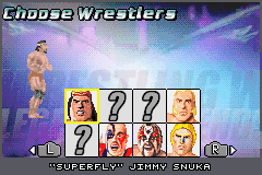 Legends of Wrestling II - Character Select  - Jimmy Snuka - User Screenshot