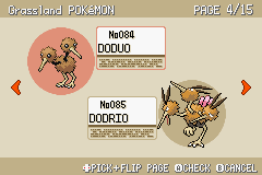 Pokemon Fire Red - Character Profile  - Pokedex - User Screenshot