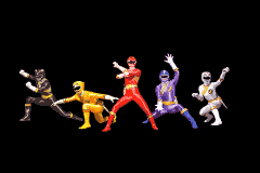 Power Rangers - Wild Force - Introduction  - Wild Force Rangers - User Screenshot