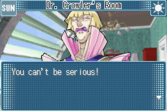 Yu-Gi-Oh! GX - Duel Academy - Cut-Scene  - Dr. Vellian Crowler - User Screenshot