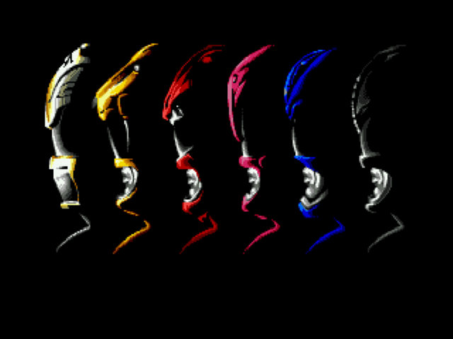 Power Rangers - The Movie - Introduction  - The Rangers - User Screenshot
