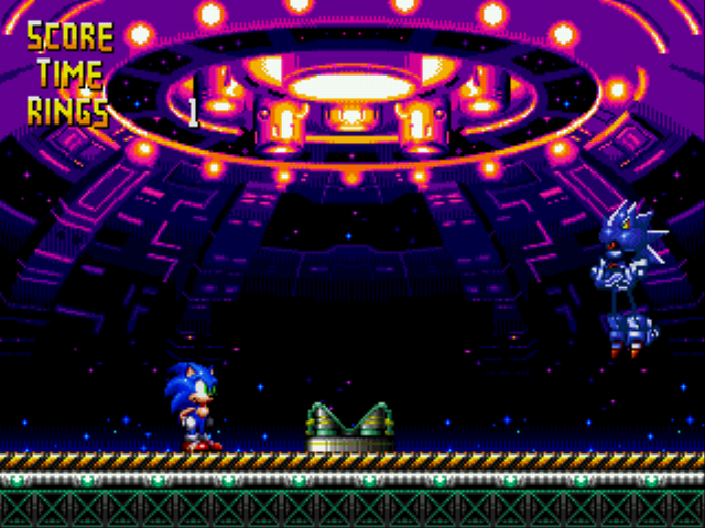 Mecha Sonic -Level :Final Confrontation with Mecha Sonic - User Screenshot